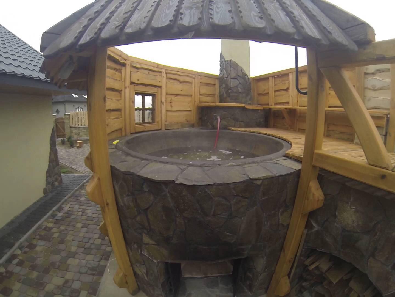 Чан для купания на дровах своими руками фото